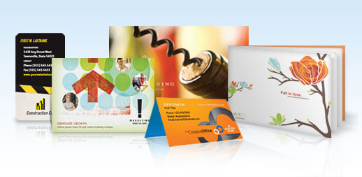 marketing print products