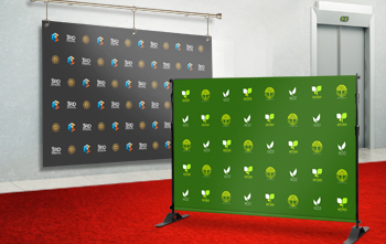5' x 8' Step and Repeat