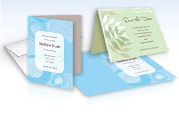 Custom Invitation - 5.5 x 8.5 Scored