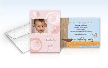 Party Invitations - 4 x 6