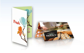 Folded Loyalty Cards