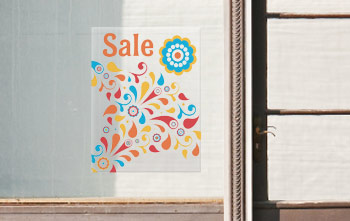 Window Clings For Business - 18 x 24