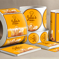 Fast Custom Label Printing - Food and Product Labels