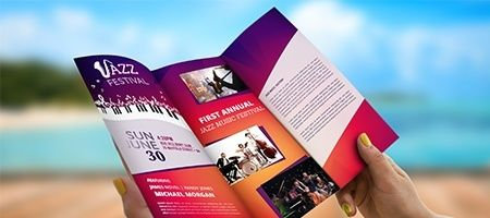 custom brochure printing fast trifold brochures nextdayflyers