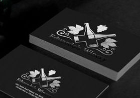 Nextdayflyers fast same day and overnight printing services foil business cards reheart Gallery