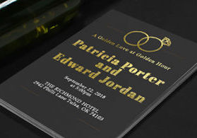 Nextdayflyers fast same day and overnight printing services foil invitations colourmoves