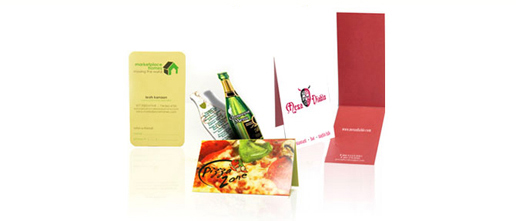 Get Noticed with Specialty Business Cards