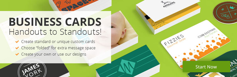 Make your Own Custom Business Cards