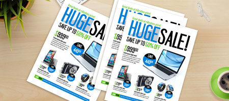 Business Flyer Printing Fast Flyers Nextdayflyers