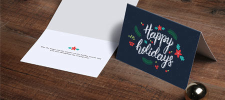 Print Custom Greeting Cards Flat Or Folded Nextdayflyers