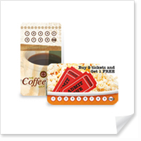 Rounded Corner Loyalty Cards