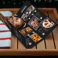 fast menu printing restaurant dine in or take out menus