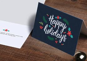 Print custom greeting cards flat or folded nextdayflyers m4hsunfo
