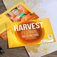 Harvest Festival EDDM Postcards