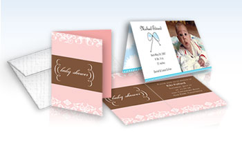 4 x 6 Scored Invitations