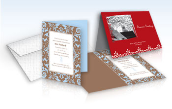 Customized Invitations - 5 x 7 Scored
