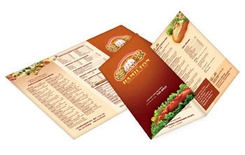 Take Out Menu Printing