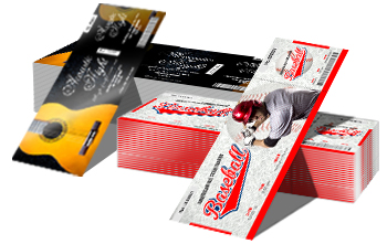 Custom Tickets: Event Ticket Printing, Free Design Online Tool
