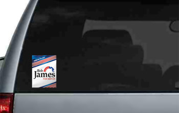 Static Window Clings - 3 x 4